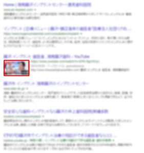 検索結果内の動画